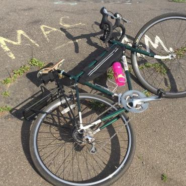 Custom bike bag